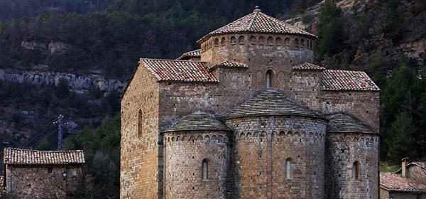 Esglèsia romànica de Sant Jaume de Frontanyà, s. XI, antic monestir,  Sant Jaume de Frontanyà, el Berguedà, Barcelona