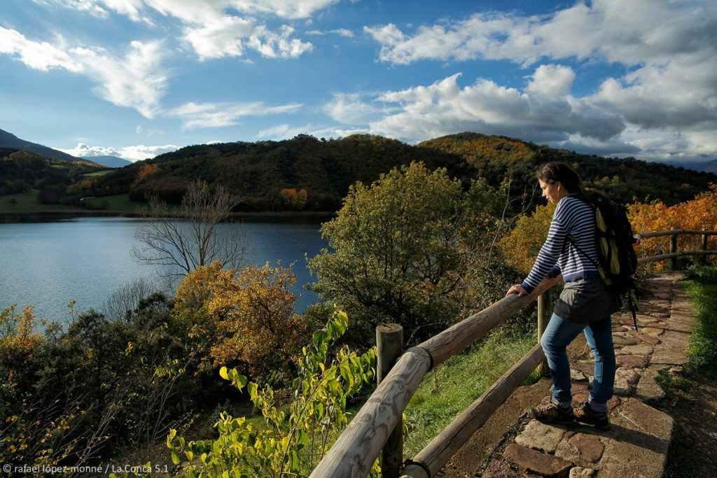 Estany de Montcortès. Baix Pallars, Pallars Sobirà, Lleida