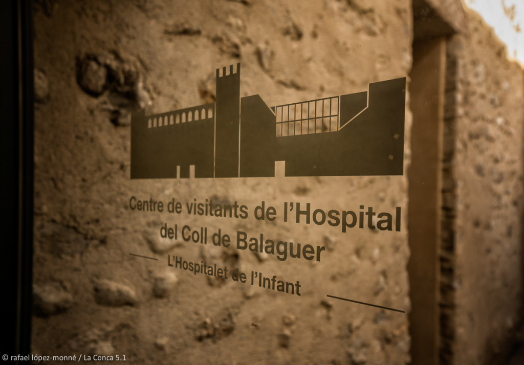 Centre de visitants de l'Hospital del Coll de Balaguer. Hospitalet de l'Infant - Vandellòs, Baix Camp, Tarragona