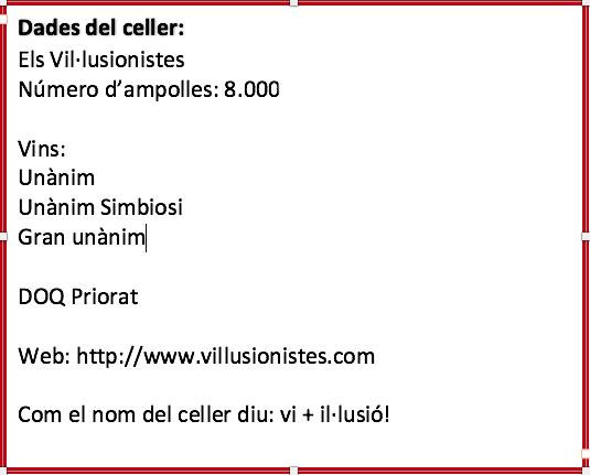 dades celler 8