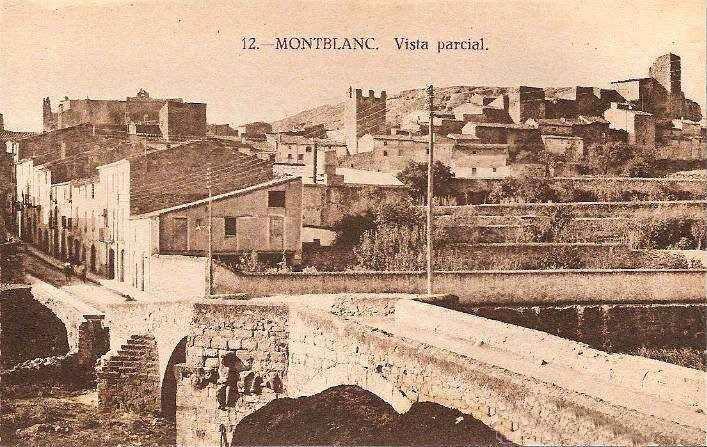 vista parcial de Montblanc Baldric